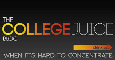 The College Juice Blog. When its hard to concentrate. Click to drink up and TheCollegeJuice.com